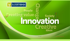 Según Gee,S. ,innovación «es el proceso en el cual a partir