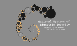 National Systems of Biometric Security