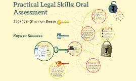 Copy of Practical Legal Skills: Oral Assessment