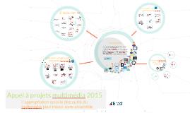 Appel à projets multimedia 2015 de la ville de Brest