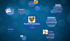 Health Promotion - Lesson 1 - Access to Health Studies