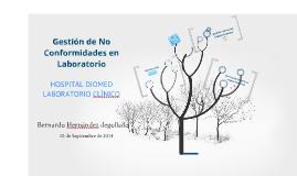 Copy of TALLER  Gestión de No Conformidades en Laboratorio