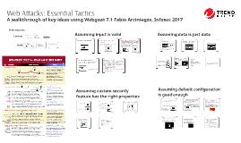 Web Attacks: Essential Attack Tactics