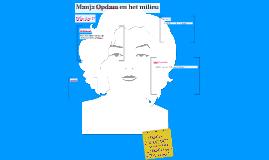 Manja Opdam en het milieu