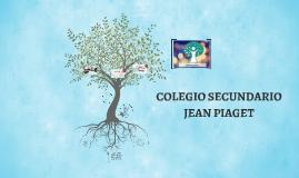 COLEGIO SECUNDARIO JEAN PIAGET