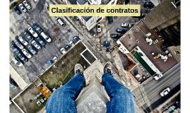 Clasificación de contratos