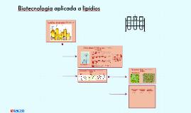 Biotecnologia aplicada a lipídios