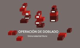 OPERACIÓN DE DOBLADO