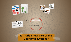 Is Trade show part of the Economic System?