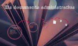 Els documents administratius