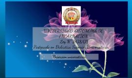 Deserción Universitaria