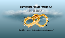 Copy of Taller de Sanidad e Intimidad Matrimonial