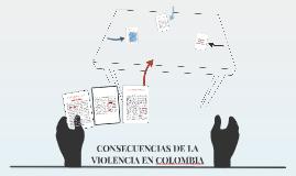 Copy of CONSECUENCIAS DE LA VIOLENCIA EN COLOMBIA