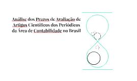 Análise dos Prazos de Avaliação de Artigos Científicos dos P