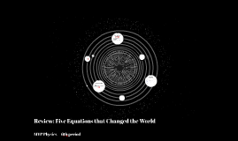 Review: Five Equations That Changed the World