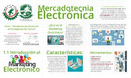 1.1 Introducción a la Mercadotecnia Electrónica