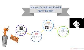 Formas de legitimación del poder político