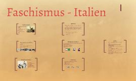 Faschismus - Italien