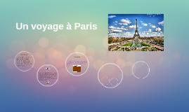 Un voyage à Paris