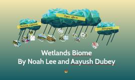 Copy of Wetlands Biome Presentation