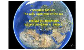 Copy of  The sea in literature