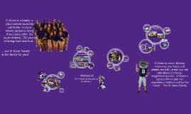 Purple. It's more than a color. It's our Kansas State Family!