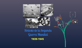 Síntesis segunda guerra mundial