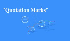 Qtation Marks
