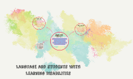 Language and students with Learning Disabilities