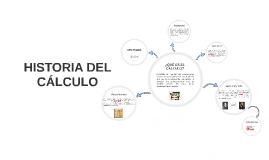 HISTORIA DEL CALCULO