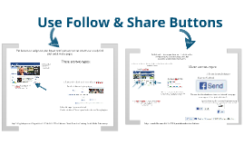 How to Use Facebook Follow and Share Buttons