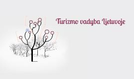 Turizmo vadyba Lietuvoje