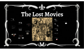 the lost movies
