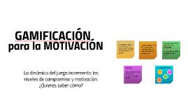 para la MOTIVACIÓN