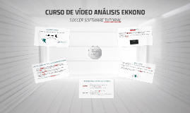 CURSO DE VÍDEO ANÁLISIS EKKONO