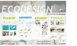 Ecodesign en Ecolizer