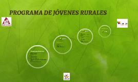 PROGRAMA DE JÓVENES RURALES
