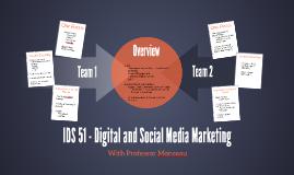 IDS 51 - Digital and Social Media Marketing