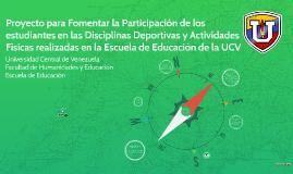 Proyecto para Fomentar la Participación de los estudiantes e