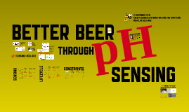 better beer through pH sensing