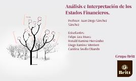 Análisis e Interpretación de los Estados Financieros.