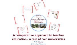 A co operative approach to teacher education assessment