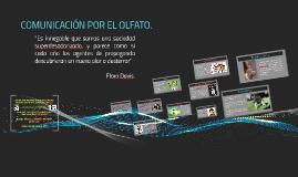 COMUNICACIÓN POR EL OLFATO.