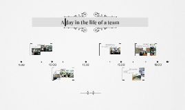Copy of A day in the life of a team