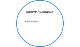 history homnework