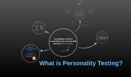 What is Personality Testing?