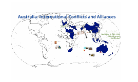 Australia: international conflicts and alliances