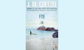 J.M. Coetzee Foe