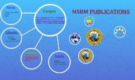 NSBM PUBLICATIONS