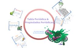 Copy of Tabla Periódica & propiedades periodicas